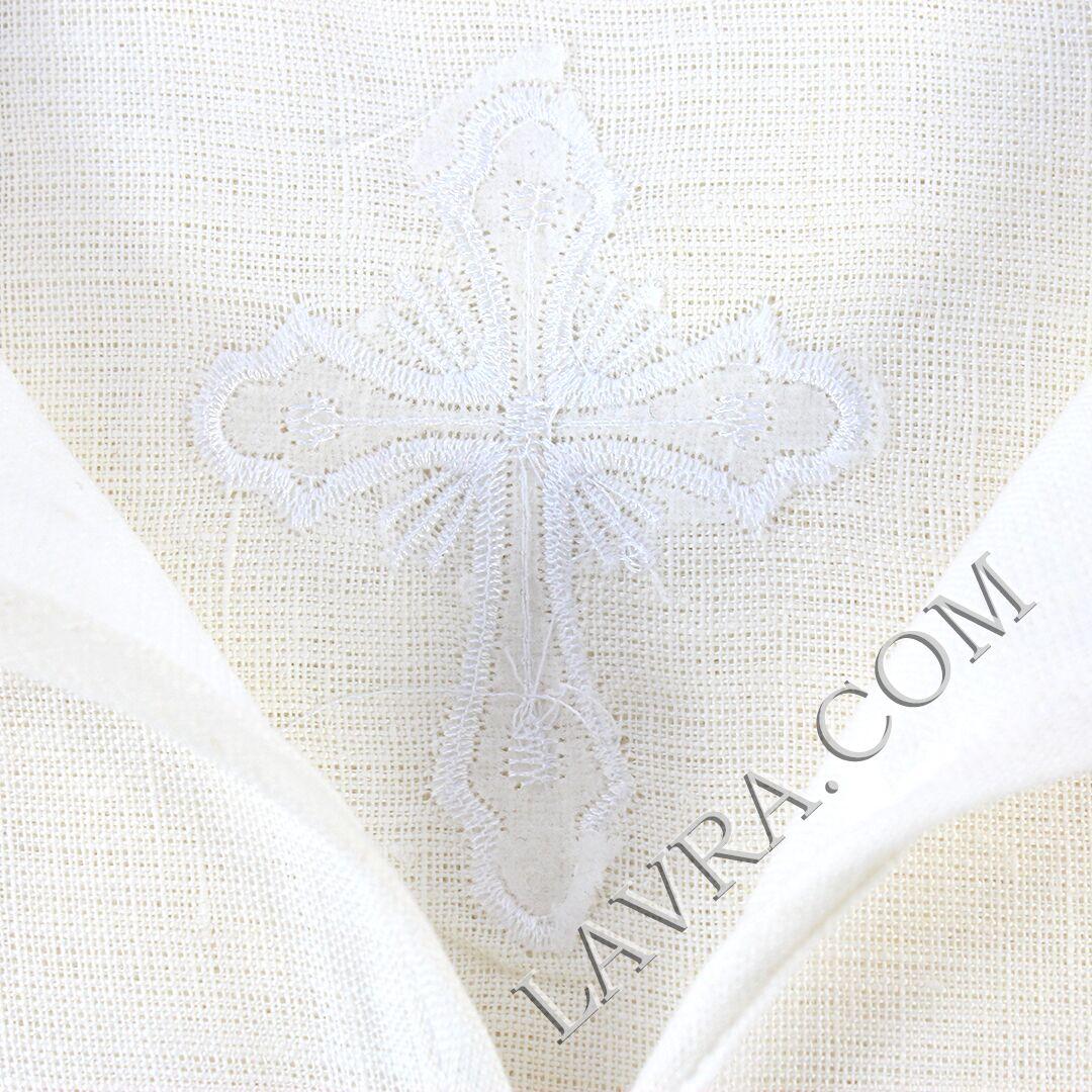 3d5e8d88754ed4a Рубашка для таинства Крещения и купания в святых источниках (лён ...